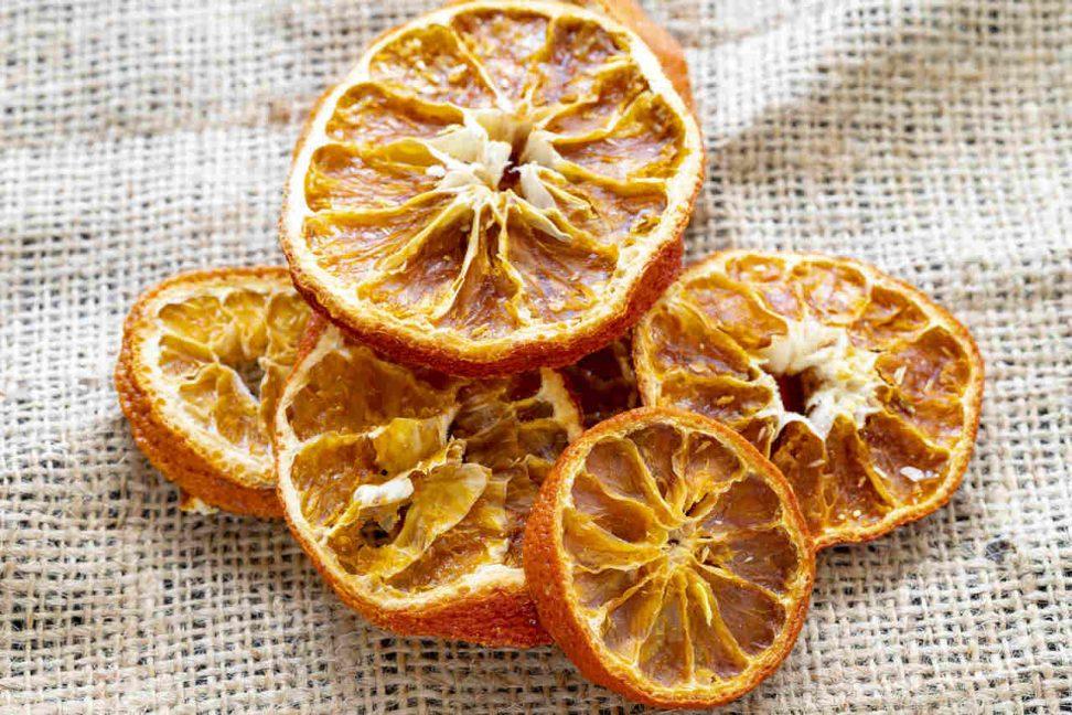 Orangen dörren